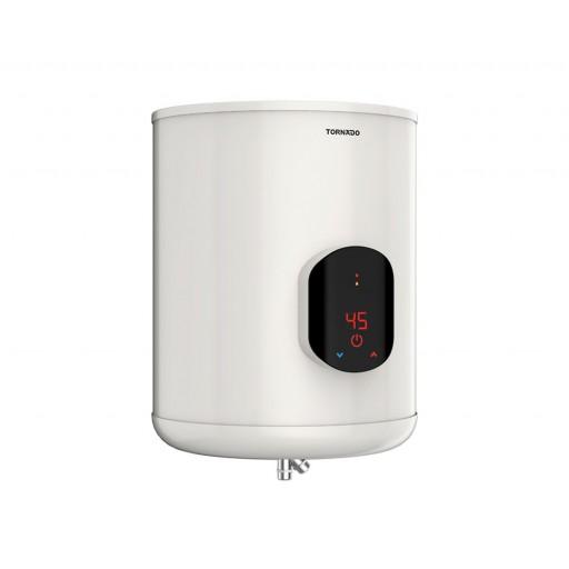 سخان مياه تورنيدو كهرباء 45 لتر لون أوف وايت مزود بشاشة ديجيتال EWH-S45CSE-F
