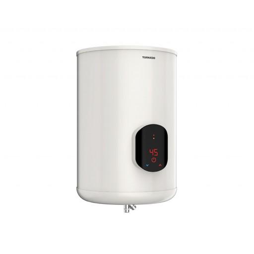 سخان مياه تورنيدو كهرباء 55 لتر مزود بشاشة ديجيتال لون أوف وايت EWH-S55CSE-F