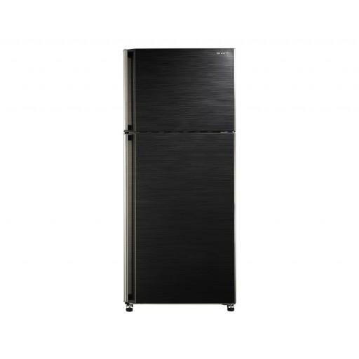 ثلاجة شارب نوفروست سعة 385 لتر ، 2 باب لون أسود SJ-48C(BK)