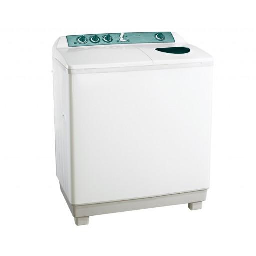 غسالة ملابس توشيبا هاف أوتوماتيك 12 كيلو لون أبيض مزودة بموتورين و طلمبة VH-1210SP
