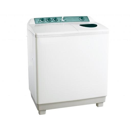 غسالة ملابس توشيبا هاف أوتوماتيك 10 كيلو لون أبيض مزودة بموتورين VH-1000