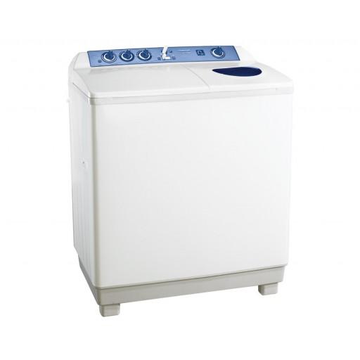 غسالة ملابس توشيبا هاف أوتوماتيك 7 كيلو لون أبيض مزودة بموتورين و طلمبة VH-720P