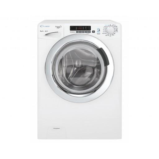 غسالة ملابس كاندي فول أوتوماتيك 8 كيلو لون أبيض GVS128DC3-EGY