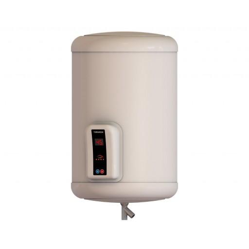 سخان مياه تورنيدو كهرباء 65 لتر مزود بشاشة ديجيتال لون أوف وايت EHA-65TSD-F