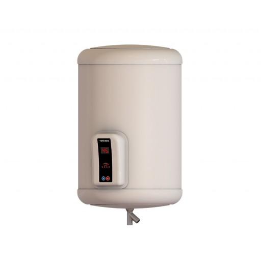 سخان مياه تورنيدو كهرباء 35 لتر لون أوف وايت مزود بشاشة ديجيتال EHA-35TSD-F