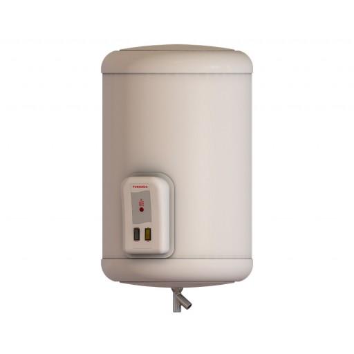 سخان مياه تورنيدو كهرباء 65 لتر لون أوف وايت مزود بلمبة إل إي دي كمؤشر لدرجة الحرارة EHA-65TSM-F