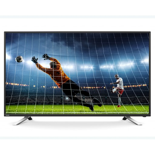 شاشة توشيبا 49 بوصة سمارت إل إي دي Full HD مزودة بريسيفر داخلى، 3 مداخل HDMI و مدخلين فلاشة 49L5865EA