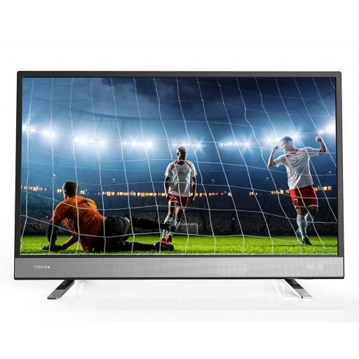 شاشة توشيبا 4K سمارت تي في 50 بوصة مزودة بريسيفر داخلى، 3 مداخل HDMI و مدخلين فلاشة 50U5865EA