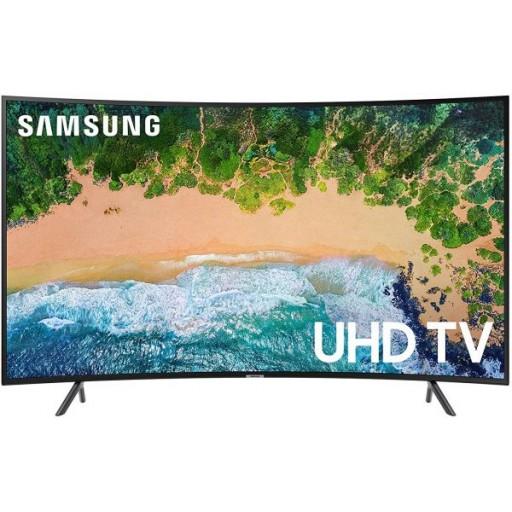 تلفزيون سامسونج 55 بوصة UHD منحني - UA55NU7300KXZN - سلسلة 7