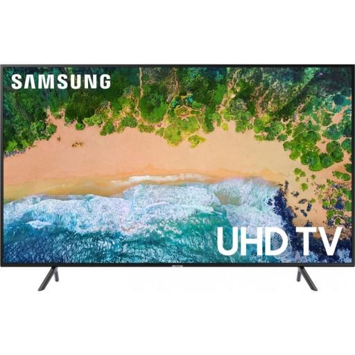 تلفزيون سامسونج الذكي بحجم 65 بوصة UHD - UA65NU7100KXZN - السلسلة 7