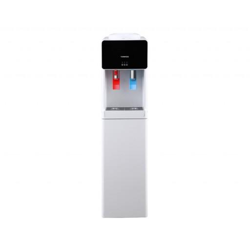 مبرد مياه تورنيدو مزود بعدد 2 حنفية للمياه الباردة والساخنة لون أبيض WDM-H45ASE-W