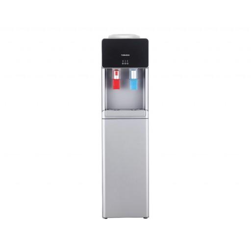 مبرد مياه تورنيدو مزود بعدد 2 حنفية للمياه الباردة والساخنة لون سيلفر WDM-H45ASE-S