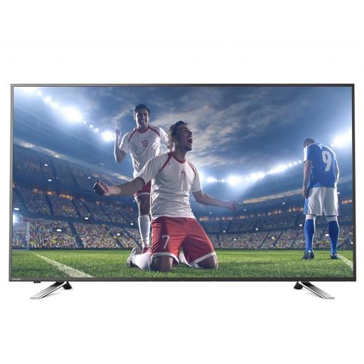 شاشة توشيبا 4K سمارت تي في 65 بوصة مزودة بريسيفر داخلى، 3 مداخل HDMI و مدخلين فلاشة 65U5865EA