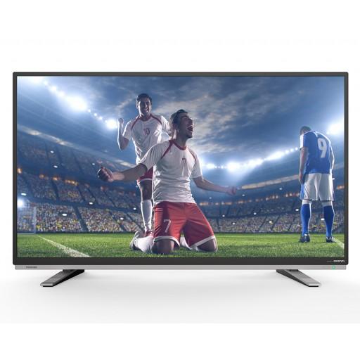 شاشة توشيبا 24 بوصة إل إي دي HD مزودة بمدخلين HDMI و مدخلين فلاشة 24S1800EA